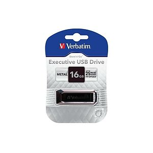 Verbatim USB-Drive Executive Metal, 16GB, 44067
