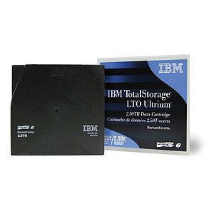 IBM Datenkassette, LTO Ultrium 6, 2.5/6.25TB, 00V7590